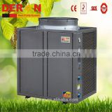 Deron high cop air source heat pump water heater generator for hot warer central heating 42kw