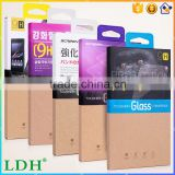 new tempered glass protector packaging For iphone packaging For Samsung Motorola HTC LG For Sony