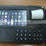 Touch Screen Android/WinCE POS Terminal with MSR,Wifi,Printer