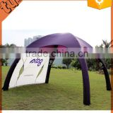 hot sale custom inflatable outdoor dome tent, inflatable spray booth for advertising