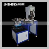 JS-2008A8 semi-auto bulk terminal enamel wire stripping machine cable lug press equipment
