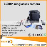 HD 1080P sunglasses camera manual, support wifi data transfer and mobile app