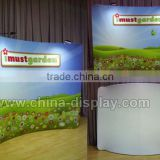 2016 newest exhibition booth design standard modular backdrop stand for advertising display use