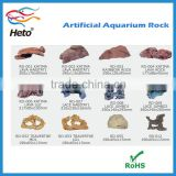 Decorative Aquarium artificial live Poly resin Ornament Moss Rocks landscaping