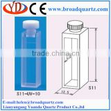 quartz cuvette cell 20mm