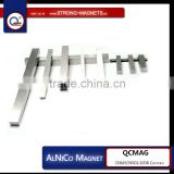 Block permanent AlNiCo magnet,Strong Custom AlNiCo Ring Magnet for industrial use