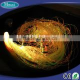 Christmas ceiling starry decorative 1*1.0mm plastic sparkle fiber optic cable for lighting