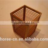 top quality 100% bamboo umbrella flower laundry storage basket for home decoration