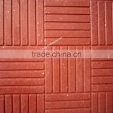Complete Solution of multicolored concrete paving tiles