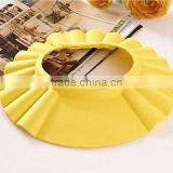 silicone buckle baby shower shield cap avoid water hurt eyes baby shower necessary