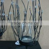 Professional crystal glass candelabra