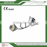 threaded waterproof t8 fluorescent lamp holder/pendant lamp set/droplight
