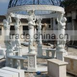 Decoration Garden Outdoor Gazebo with metal roof