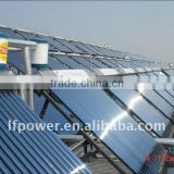 Heat pipe solar thermal vacuum tube solar collector heating room