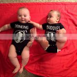 Custom Shirt - Matching Jumpsuits Twins Baby ,Cute Baby Shower Gift