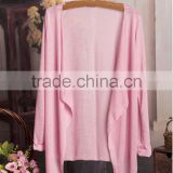 Korea sex long sleeve without button Sun protection clothing breathable summer thin women chiffon