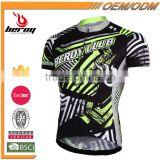 BEROY Fitness Plus Size Sublimation Mountain Bike Cycling Jersey, China Custom Coolmax Bicycle Wear