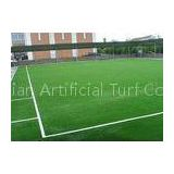 8800 Dtex PE Monofilament Yarn Playground Artificial Grass For Sports Football Futsal Soceer