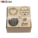 5pcs Card Making Kids Rubber Stamp Printer Stamp Ink Pad