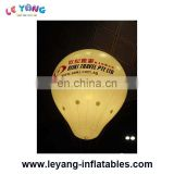 Inflatable Ground Balloon/ high giant advertising inflatable bulb balloon