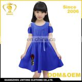 High quality wholesale child clothing birthday dress for girl of 7 years old