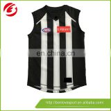 Black and white wholesale AFL jersey