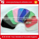 100% PU gel sticky anti-skip clean car pad for mobile