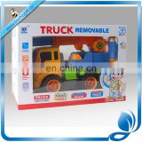 Most Popular Design DIY Removable Truck inertial crane truckToy