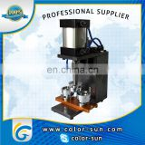 pneumatic automatic button badge making machine with cheap price on hot sales in alibaba