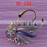 100%QC Bailange wholesale plating rhinestone women brooch for evening dress