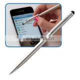 heavy gift premium metal iphone stylus ballpoint ball pen with triangel gift box RB17112