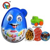 Big Size Surprise Egg Chocolate Biscuit with Toys Candy