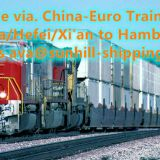 Shanghai to Nur-Sultan Kazakhstan sea-railway Logistic agent
