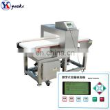 Textile and garment industrial conveyor belt broken needle metal detector for sale