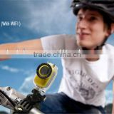 H.264 MOV Outdoor Waterproof 1080P HD WiFi Sport Action Camera With Data Sharing By HDMI and WiFi Connection