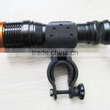aluminum bicycle light flashlight with CREE LED