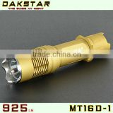 DAKSTAR MT16D-1 CREE XML T6 925LM 18650 Over-discharge Protection Gift Small Bicycle Torch Light Rechargeable Battary