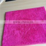 Factory cheap prices anti-slip microfiber kitchen mat ,chenille mats