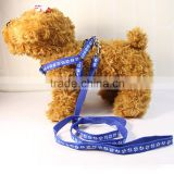 Applique pet leash chest harness small dog patch traction rope