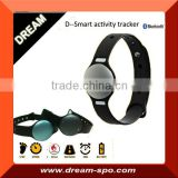 High quality sync bluetooth sleep activity tracker sports wristband pedometer sleep monitor