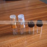 1ml Vials Clear Glass Bottles with Corks Empty Sample Jars Small For message bottle,storage accessories