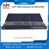4 sim cards Work in rotation,sagem rl300 fixed gsm gateway,8 channels gsm/cdma/wcdma voip gateway