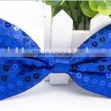 New sequin kids bow tie colorful boy bow tie for Children's accessories BT-5