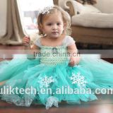 fashion frozen elsa and anna baby tutu dresses wholesale fashion tutu dress frozen baby girl wedding dress