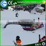 Hot sale inflatable stunt winter big air bag mountain ski air bag for event                                                                                                         Supplier's Choice