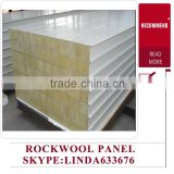 alibaba com factory best price ISO certificated Color steel rockwool sandwich panel for wall
