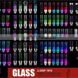 tobeco most popular electronic cigarette drip tips glass wide bore drip tips wholesale in stock