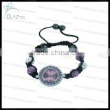 2013Fashion shamballa bracelet watch for women