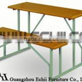Solid & useful school desk and bench/school desk with bench