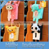 Car Tissue Boxes Cute Cartoon Chair Easily Bear Hanging Pumping Tray Automotive Vehicle Can Be Suspended